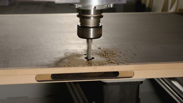 Effective machining on door and frame components