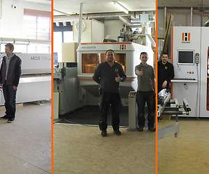 Edgebanding, CNC & complete machine united in production