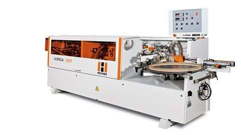 Complete processing including jointing, corner rounding and two finishing units