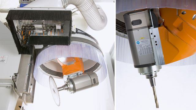 Power 5-axis cutter unit