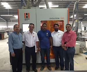 On growth course with the vertical CNC