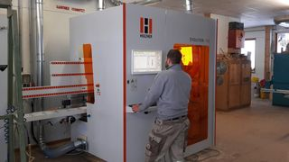 Positive experience with HOLZ-HER CNC machining center - CNC machining on all for sides - complete formating
