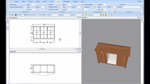 Simple furniture programming