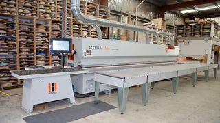 Customer Walls Bros HOLZHER Australia with edge banding machines ACCURA and SPRINT
