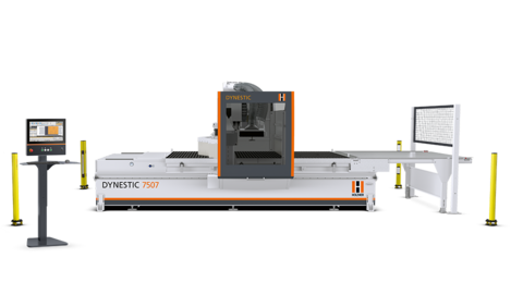 Nesting technology at the highest level -  the new nesting cnc machine Dynestic 7507 from HOLZHER