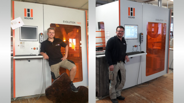 Our reference customer Suske with a machining centre EVOLUTION 7405 from HOLZ-HER