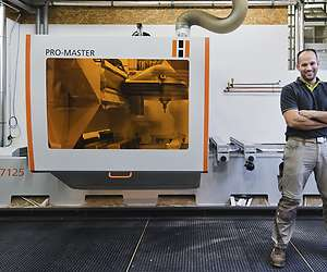 5-axis CNC machine: Maximum precision with HOLZHER