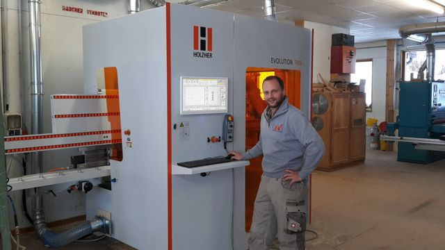 Reference / experience with HOLZ-HER machines - CNC machine with extremely limited space