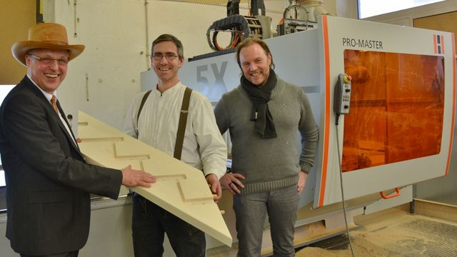 HOLZ-HER reference CNC Böhme Carpentry Shop