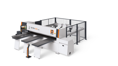 The universal beam saw/panel saw for woodworking and panel processing
